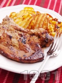 Мариновани свински пържоли - снимка на рецептата